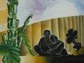 9-1-contemplation:60x60cm:aerosol-et-acrylique-sur-toile