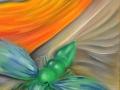 les-trois-mondes-50x210cm-huile-sur-toile-detail-bas