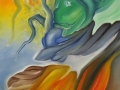 les-trois-mondes-50x210cm-huile-sur-toile-detail-centre-bas
