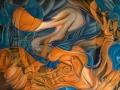 4-30s-laura:203x130cm:aerosol-et-acrylique-sur-toile