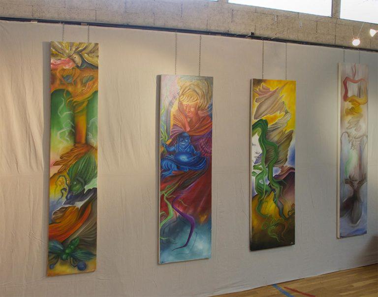 BIENNALE EN VAL DE SAÔNE – Exposition d'art contemporain