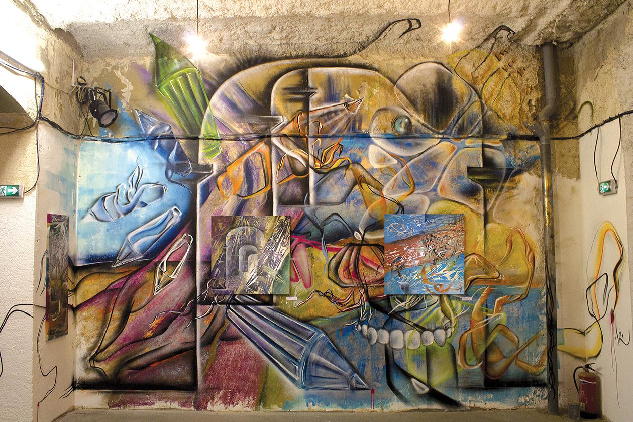 American Graffiti – Poasson avec le Collectif AVC à Marseille 3013 – Des mise en Abîme