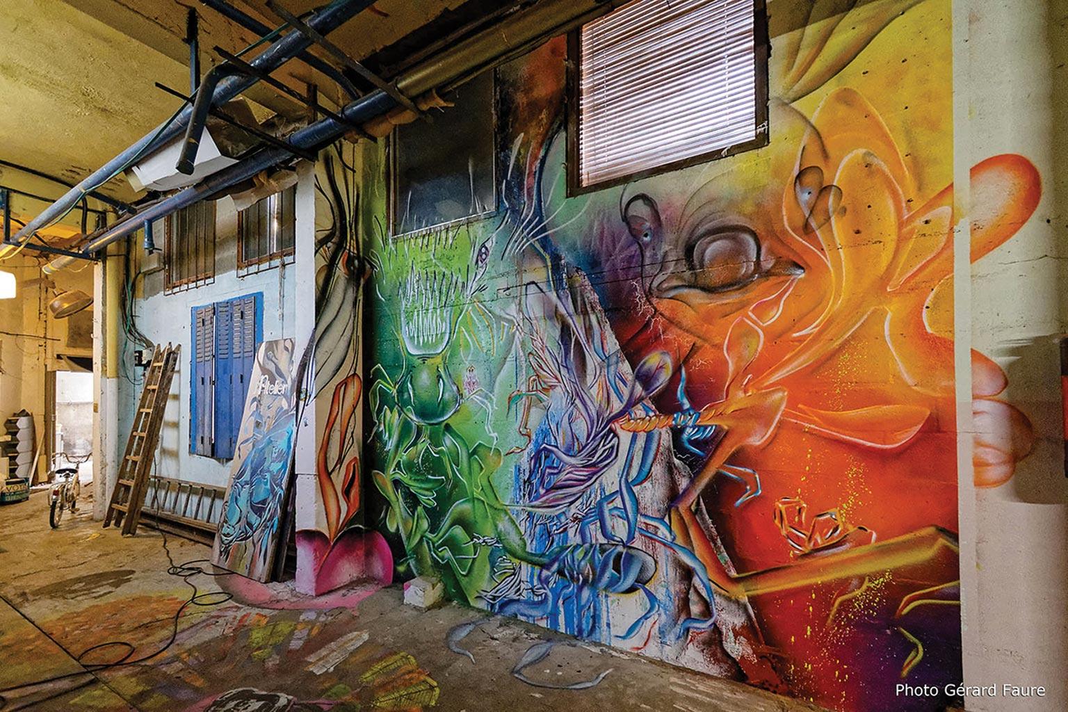 Bestiaire cosmique - l'atelier, galerie alternative & solidaire du collectif AVC - Janvier 2017 - Montreuil